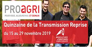 Quinzaine de la transmission-reprise, en agriculture, en Auvergne-Rhône-Alpes