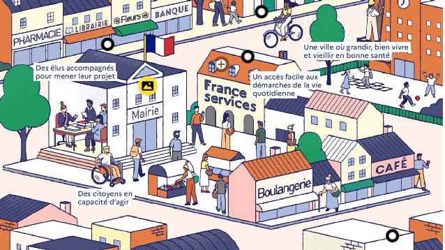 «Révéler le potentiel des petites villes pour des territoires de cohésion au cœur de la relance »