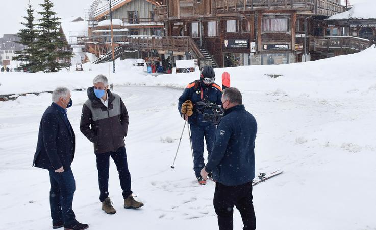 Montagne: Laurent WAUQUIEZ en Isère pour écouter les acteurs de terrain