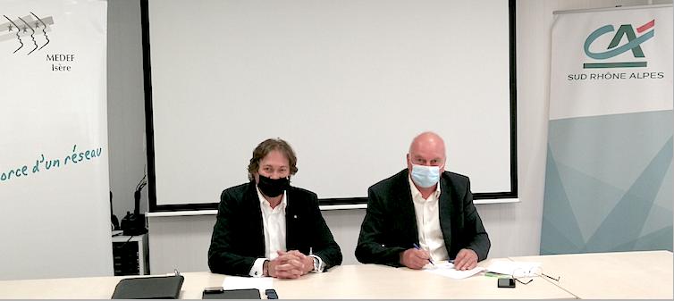 MEDEF/Crédit Agricole Sud Rhône Alpes: architectes de la nouvelle économie
