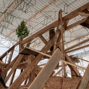Visite du chantier de rénovation d'envergure de l'Eglise Notre-Dame de St-Jean-de-Maurienne
