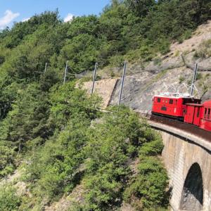 Le petit train de La Mure à nouveau sur les rails